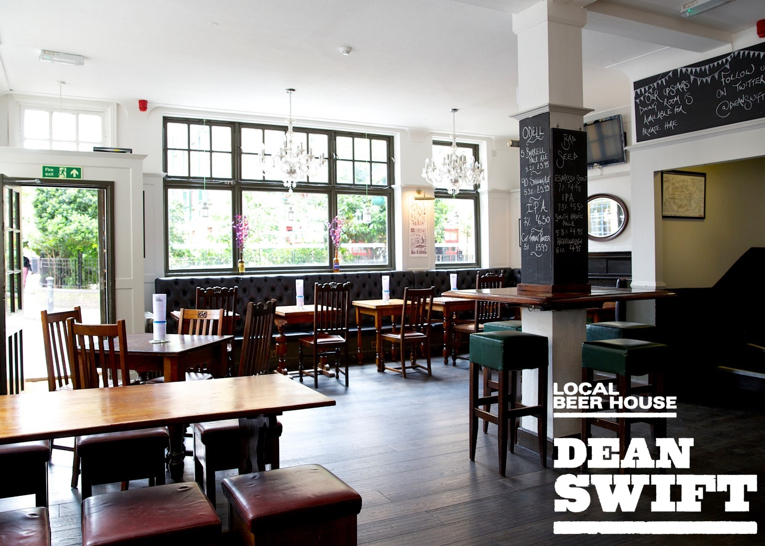 Stamp dean swift is your local beer house in butlers wharf se1 serving some of the finest craft beer and pub food in london malvernweather Images